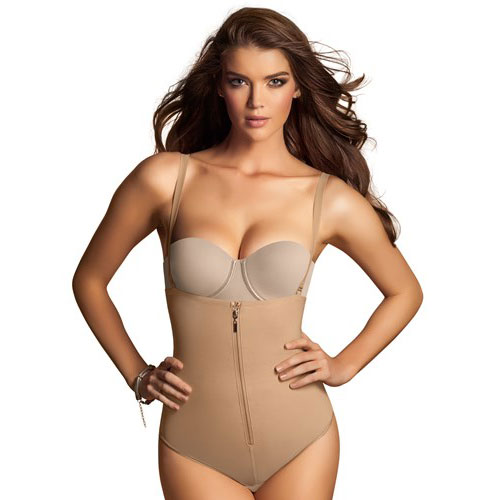 Leonisa-Womens-Slimming-Braless-Body-Shaper-in-Classic-Panty